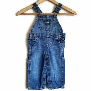 oshkosh b'gosh denim overalls size 18 months